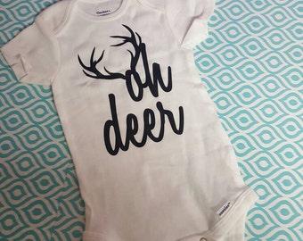 Oh Deer Onesie