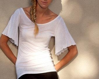 Suzanne Flutter Sleeve T-shirt
