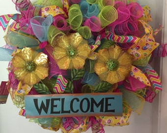 Welcome Bright Wreath