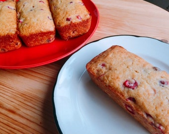 Orange Cranberry Bread Petite Loaves (Four Pack)