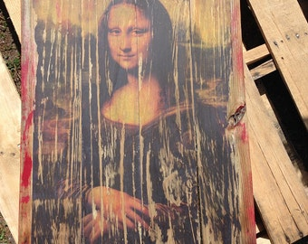 Barn side Mona Lisa