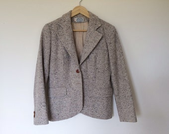 The villager vintage  wool jacket/ wool blazer