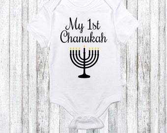 Montreal baby onesie etsy baby first chanukah gift funny hanukkah onesie jewish baby gift hannukah idea jenuine graphics montreal negle Images
