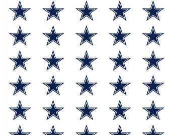 30 Dallas Cowboys Football Stickers