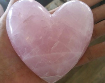 Rose Quartz Heart (Huge)