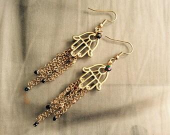 NEW! Fatima hand earrings