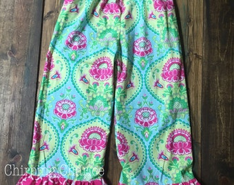 Double Ruffle Pants | Choose your fabric | size 6m to 10y