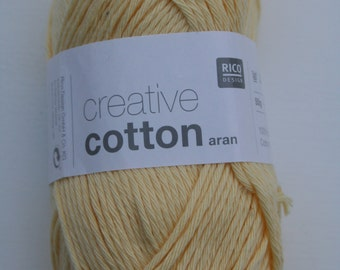 Rico Creative Cotton Aran Vanilla 062