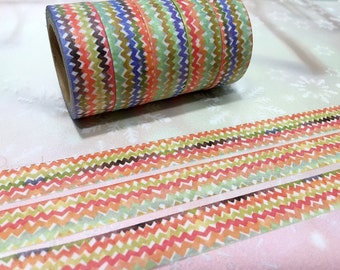 10M traditional patterns washi tape rainbow washi tape cool Jacquard Pattern colorful masking tape sticker tape deco tape gift wrapping
