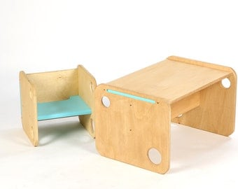 Desk and Chair Modulo
