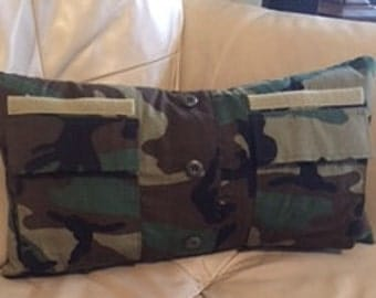 Army Camouflage Pillow