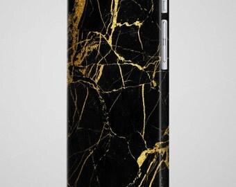 Black Gold Marble iPhone 8 Plus Case iPhone X Case Samsung Galaxy S8 Case iPhone 6 Case Galaxy S7 Case iPhone 7 Case iPhone 7 Plus Case