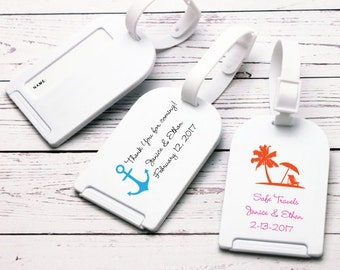 12 pcs Personalized Luggage Tag Favor - JM365294-FC6722