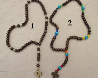 Five Decade Wooden Rosary