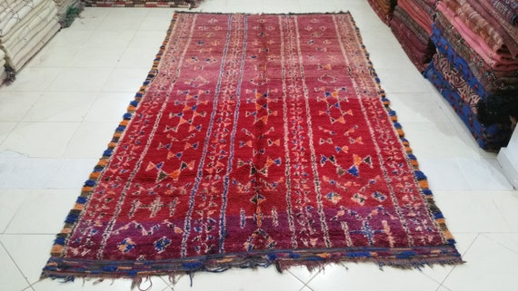 Antique berber rugs beni mguild rug tapis berbère by