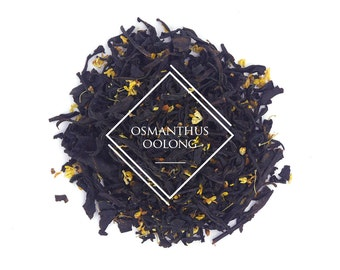 Osmanthus Oolong, Chinese Tea, Dark Oolong, Loose Leaf Tea