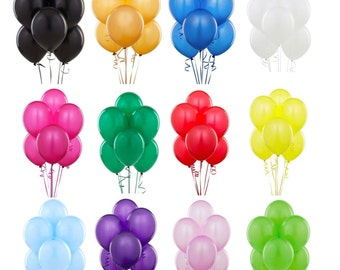 100 LARGE LATEX Party Baloons, Happy Birthday Balloons, Wedding balloons baloons