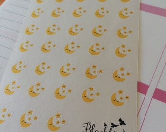 Night Shift Planner Stickers