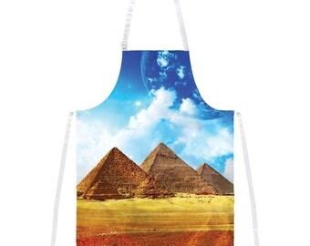 Pyramids Apron