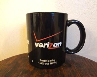 Verizon Phone Services Retro Coffee/Tea Mug Can You Hear Me Now?