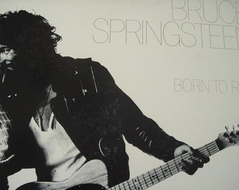 Bruce Springsteen vinyl record album, Born To Run vintage vinyl record