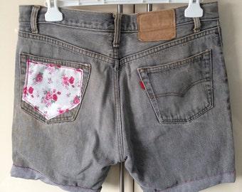 Rustic Levi Shorts