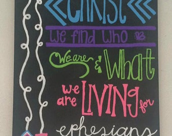 Ephesians 1:11 Painting