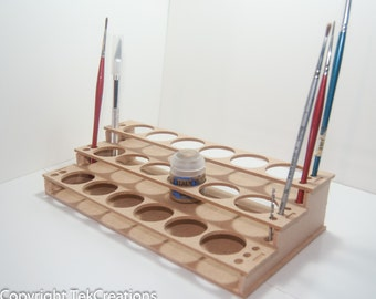 Paint Rack Holder for Citadel Warhammer Paints