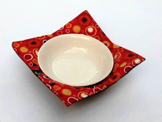 microwave bowl cozies set of 2 microwave potholder. Black Bedroom Furniture Sets. Home Design Ideas