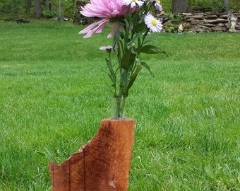 Nature's Way - Wooden Natural Flower Vase