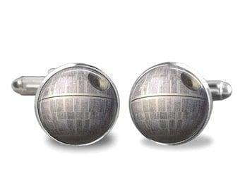 Death Star Cufflinks Star Wars Cufflinks PM-172