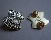 Never Sleep - Enamel pin