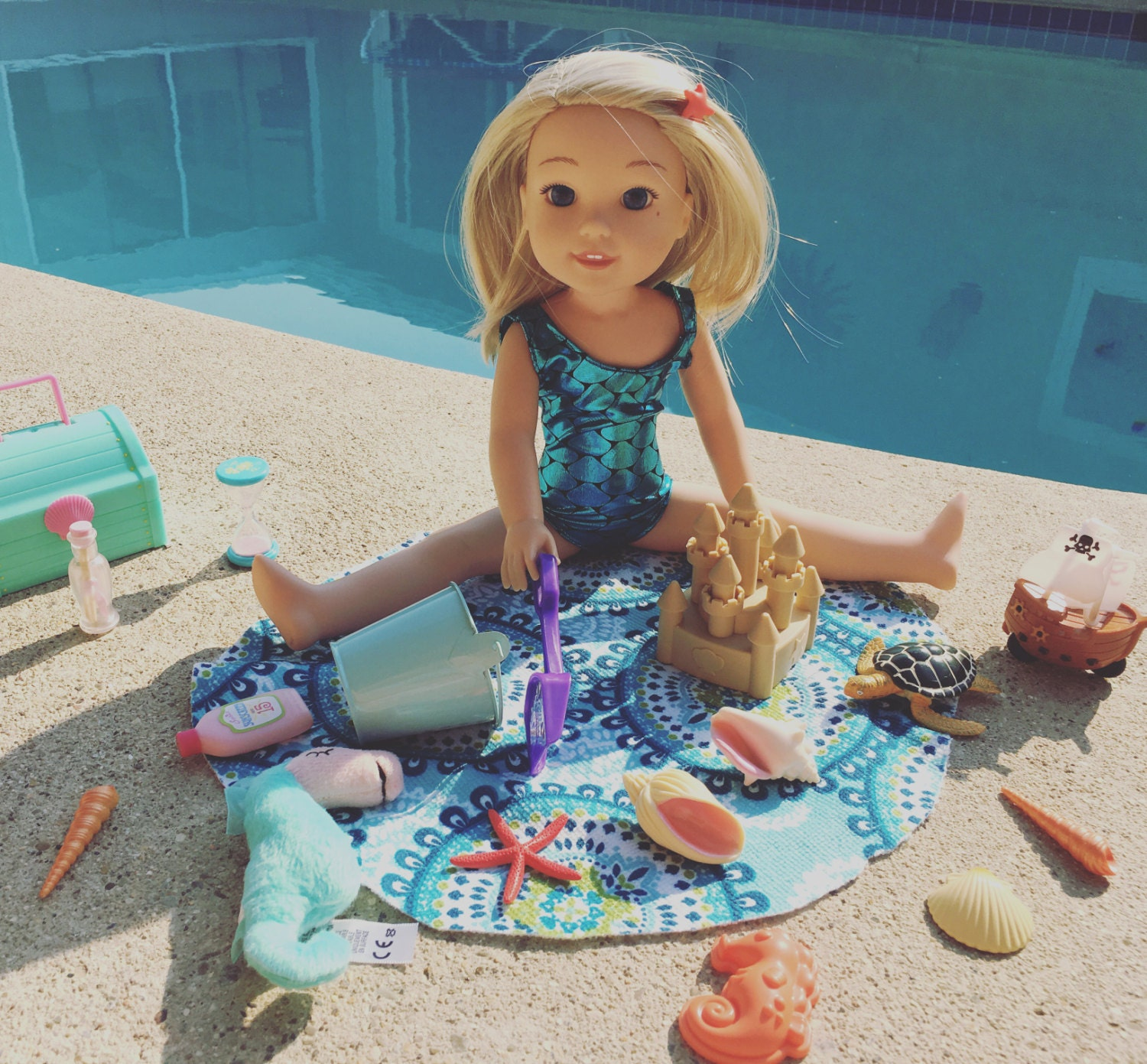 WellieWisher Camille Inspired Mermaid