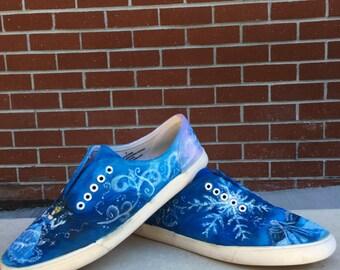 Dreams come true custom painted toms or vans