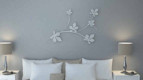 collectiondowntotask - Modern Design Wall Art in aluminum Lotus ...