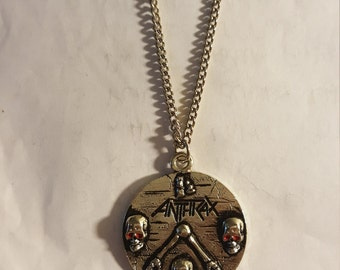 Anthrax necklace