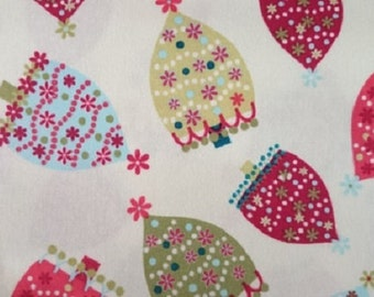 "Studio e     ""Holiday Magic""  Trees   Premium Cotton Fabric  BTY"
