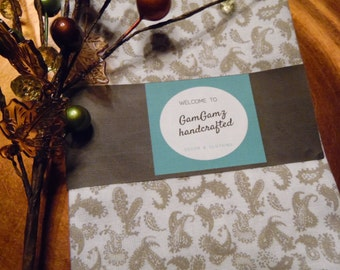 PAISLEY Table Linens. Linens. Taupe. White. Linens. Cloth Napkins.Spring.Summer Linens. Everyday Linens. Product ID# CL0010