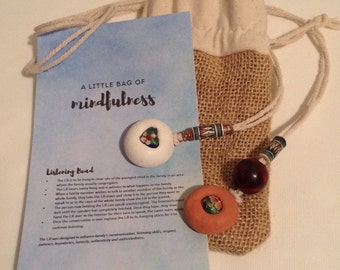A little bag of mindfulness Listening Bead only