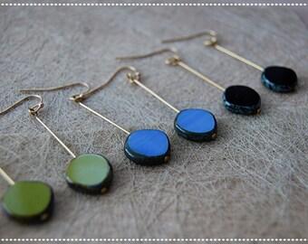 Pendants with glass bead