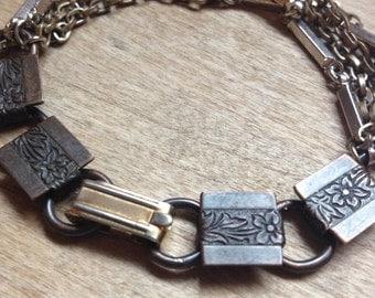 Victorian Grunge Multichain Bracelet