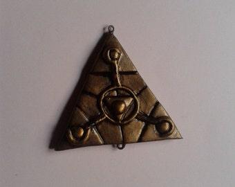 Dark crystal symbol god/destruction hanging