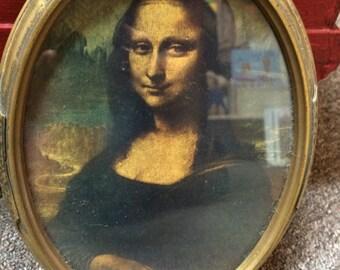 Old Mona Lisa Print.  Everyone needs one!