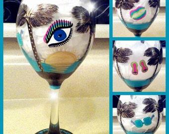 Rainbow beach glass