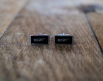 Cufflinks (cufflinks) James Bond 007