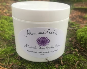 Whipped Mango and Shea butter body cream, body butter, moisturizing, Mother's Day gift