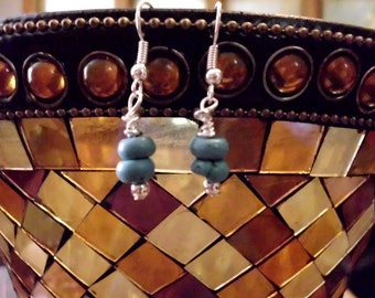 Turquoise Simple Earrings