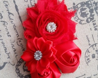 Single Shabby chic headband