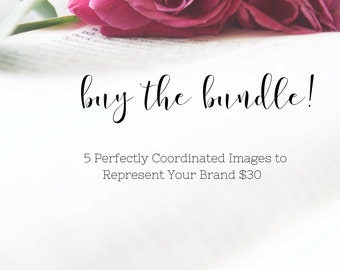 Styled Stock Photography Bundle Christian Bible with Pink Roses and White Background. Instagram Bundle. Photo Bundle. Heirloom Bible