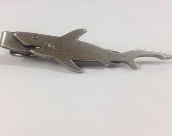 Vintage  Shark Tie Clip